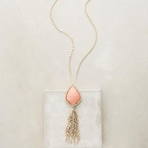 Beautiful Like New Anthropologie Coral Necklace